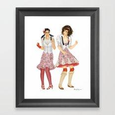 Fashion Journal: Day 24 Framed Art Print