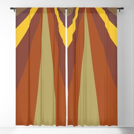 Browns tones Digital Painting prisma for Home Decor and Wall Art Blackout Curtain
