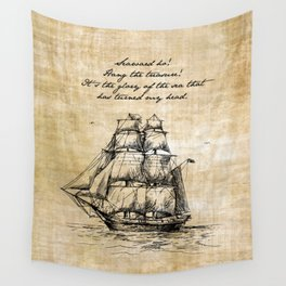 Treasure Island - Robert Louis Stevenson Wall Tapestry