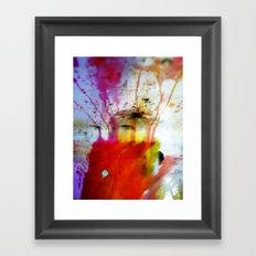Running Away Framed Art Print