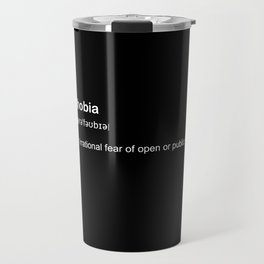agoraphobia Travel Mug