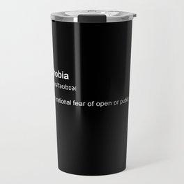 agoraphobia Travel Mug