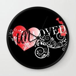 Unloved Dark Wall Clock