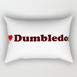 I heart Dumbledore Rectangular Pillow