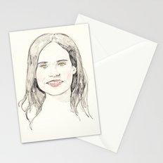 Ellen Page Portrait Stationery Cards