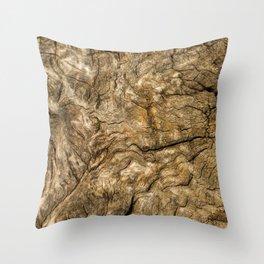 Ancient Timber Throw Pillow