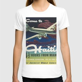 Vintage poster - Haiti T-shirt