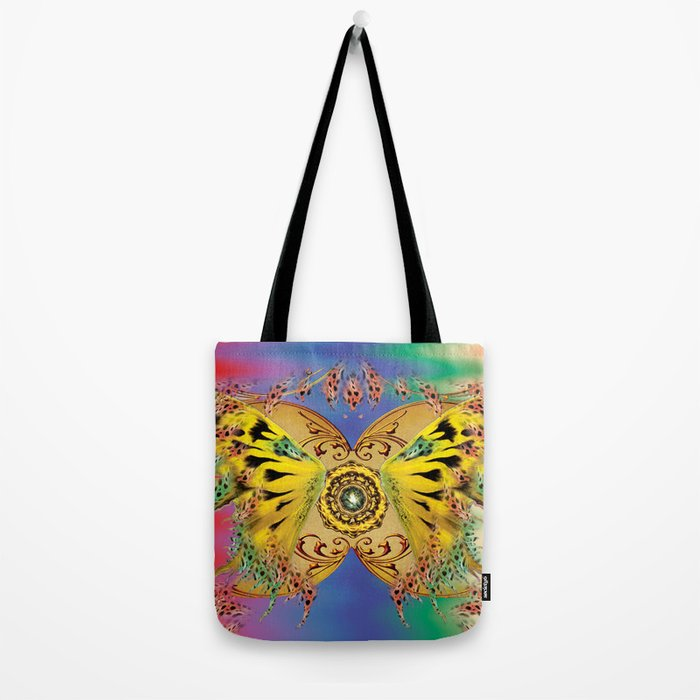 The dance of the butterfly Tote Bag
