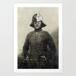 Manfred Char von Richthofen Art Print