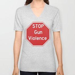 Stop Gun Violence Gun Control Shirt Unisex V-Neck