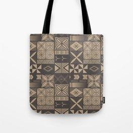 UrbanNesian Camo Siapo and Tatau Tote Bag