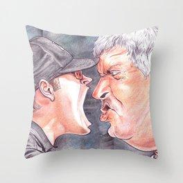 Lou Piniella Scream Throw Pillow