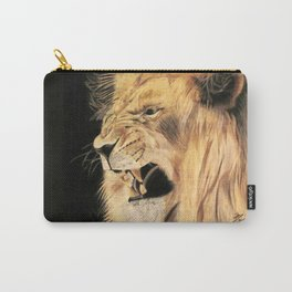A Lion's Voice Carry-All Pouch