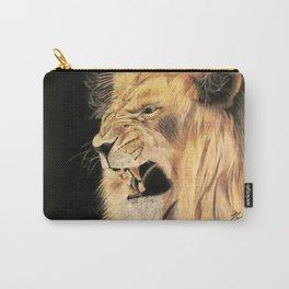 A Lion's Voice Carry-All Pouch