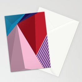 Abstract Modernist Stationery Cards