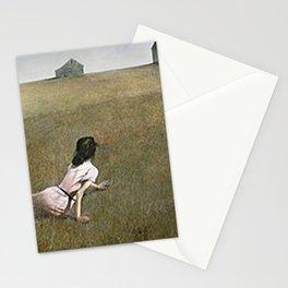 Christina's World - Andrew Wyeth Stationery Cards