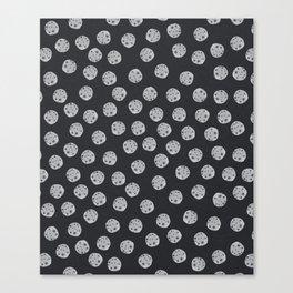 Moon Pattern Canvas Print