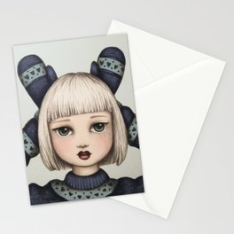 Snow Bunny Stationery Cards