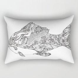 Swishy Fish Rectangular Pillow