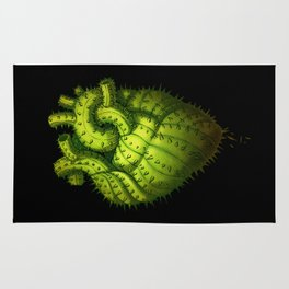 Cactus Heart Rug