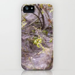 Network of nature iPhone Case