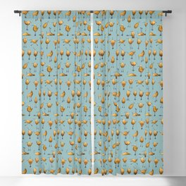 Naughty Birds and a Potato Blackout Curtain