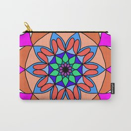 Hand drawing zentangle color Carry-All Pouch
