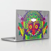 majora Laptop & iPad Skins featuring Majora Nouveau by Mareve Design