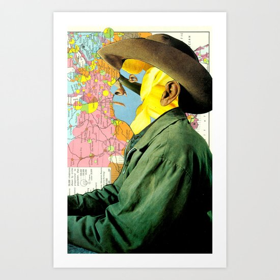 Floral Rodeo Art Print