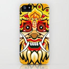 Balinese mask / Bali / Barong #4 iPhone Case