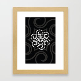 Dony Tattoo (Black) Framed Art Print