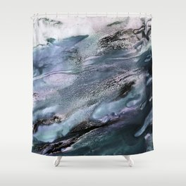 floating colours Shower Curtain