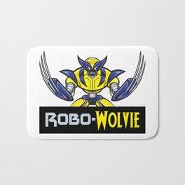 Robo-Wolvie Bath Mat