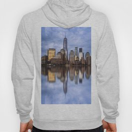 Cityscape of Financial District of New York Hoody