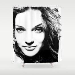 Pretty woman Shower Curtain