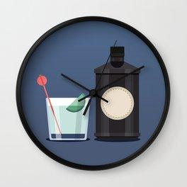 Gin o'clock Wall Clock