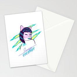 Savage eyeshot Stationery Cards