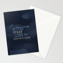 TFIOS - My Thoughts Are Stars Stationery Cards