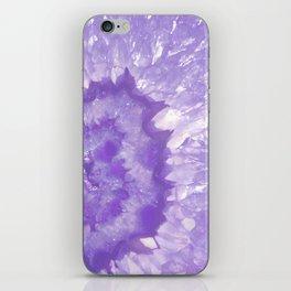 Ultra Violet Crystal iPhone Skin