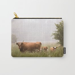 Cattle Family Carry-All Pouch
