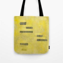 Stasis Gray & Gold 3 Tote Bag