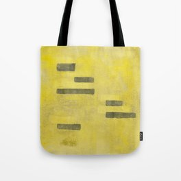 Stasis Gray & Gold 3 Tote Bag