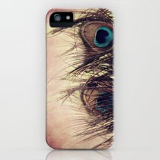 Peacock Feather Slim Case iPhone (5, 5s)