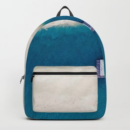 Pier to the Ocean (Color) Backpack