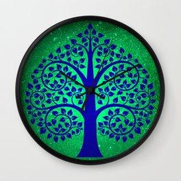 Bodhi Tree0108 Wall Clock
