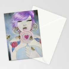Pain and Love Stationery Cards