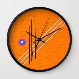 design deko figures Wall Clock