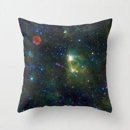 722. Tycho Supernova Remnant Throw Pillow
