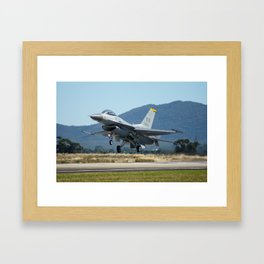 F-16 Fighting Falcon Framed Art Print