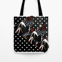 polka Tote Bags featuring : polka : by Bauerhorst